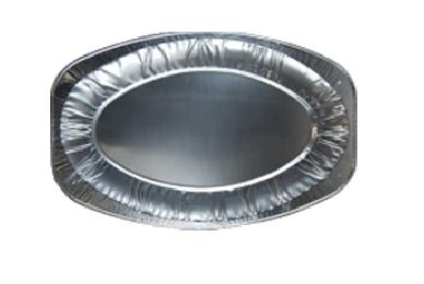 Plat ovale alu 43 cm articles jetables pas chers pour traiteur vente en ligne - Plat aluminium jetable ...