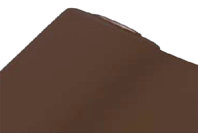 Chemin de table Voie sèche 24m x 0.40m Chocolat